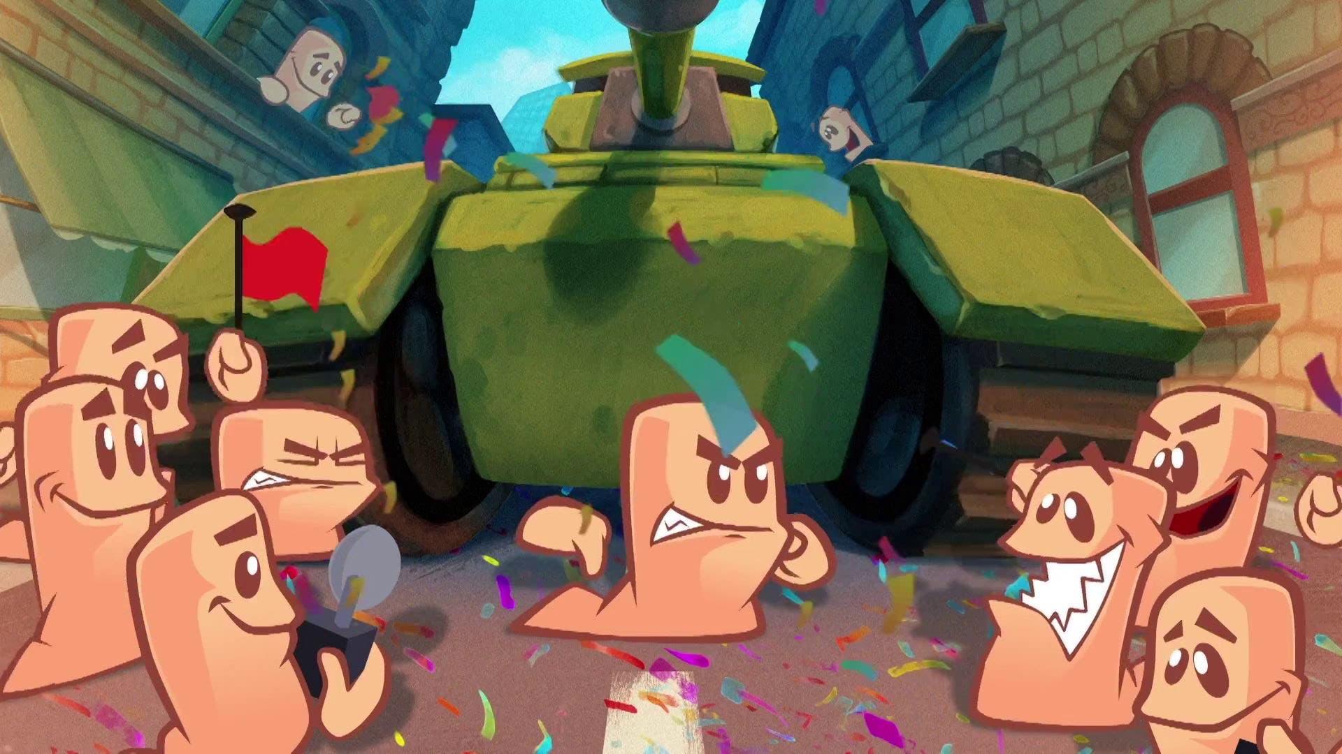 Imagen de Worms W.M.D recibe un DLC gratuito que llegará la próxima semana