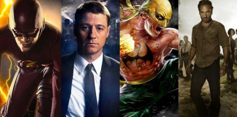 Nuevos detalles de The Walking Dead, Gotham, The Flash e Iron Fist