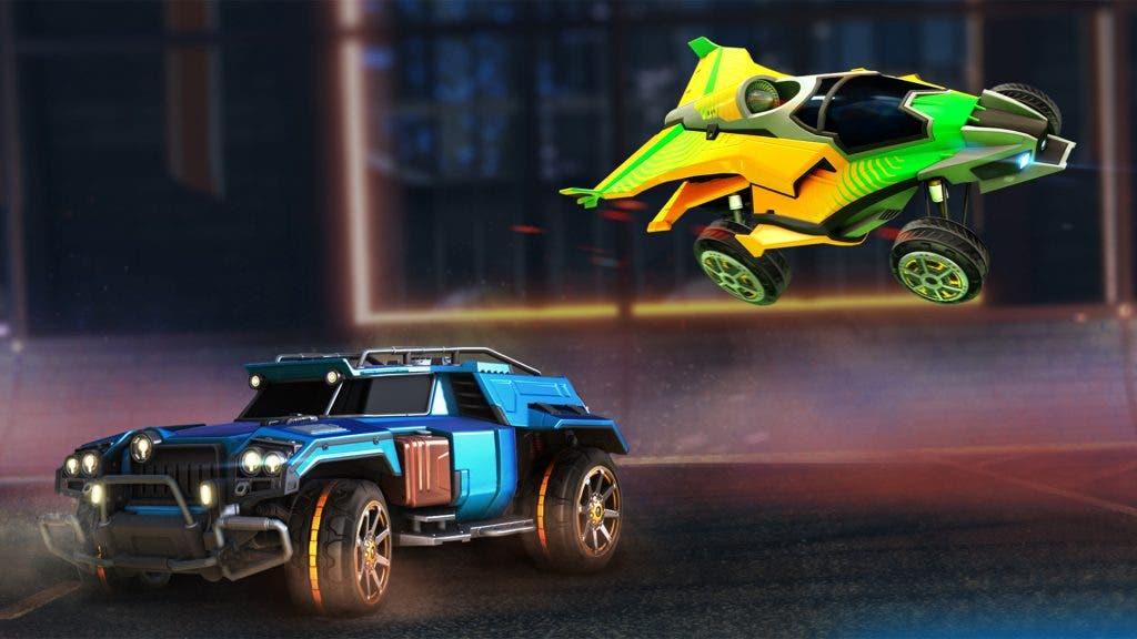 coches exclusivos Rocket League