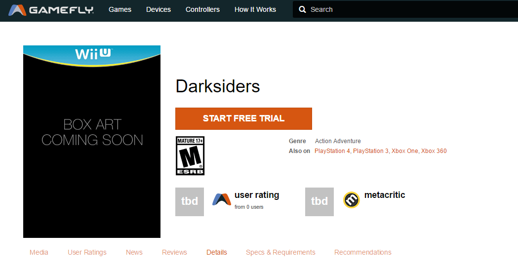 darksiders ps4 xbox one wii u