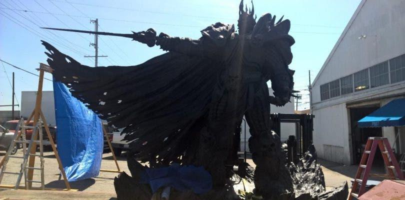 Blizzard mostrará una estatua de Arthas en su 25 aniversario