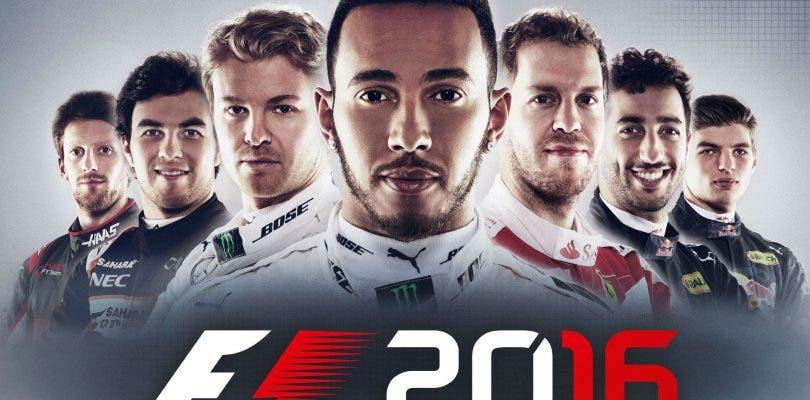 Lewis Hamilton juega a F1 2016 y muestra su habilidad al volante