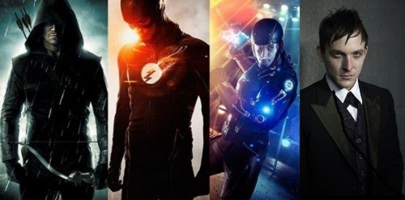 Flash, Arrow, Legends of Tomorrow y Gotham se exhiben en San Diego