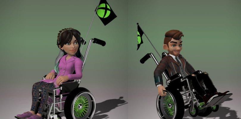 Los avatares de Xbox pronto podrán llevar silla de ruedas