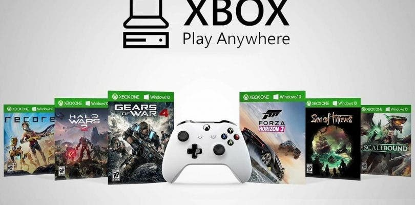 Todos los juegos de Microsoft llegarán con Xbox Play Anywhere