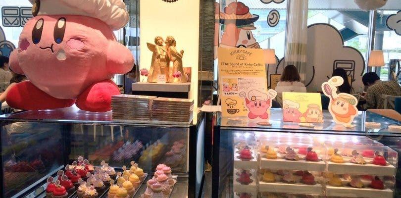 Así es la cafetería de Kirby en Japón