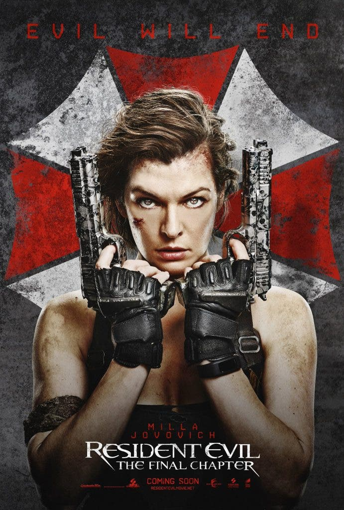 Areajugones Resident Evil The final chapter poster 2
