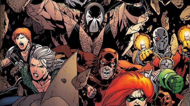 Una de las encarnaciones de los Secret Six de DC Comics