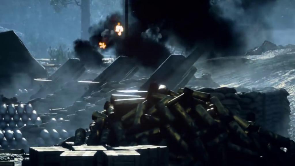 """De incorporarse en el multijugador, la artillería debería tener algunas limitaciones para evitar su abuso, como la necesidad de calcular """"a ojo"""" la distancia de tiro."""