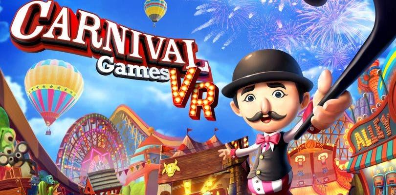 2K Games anuncia la colección de minijuegos Carnival Games VR