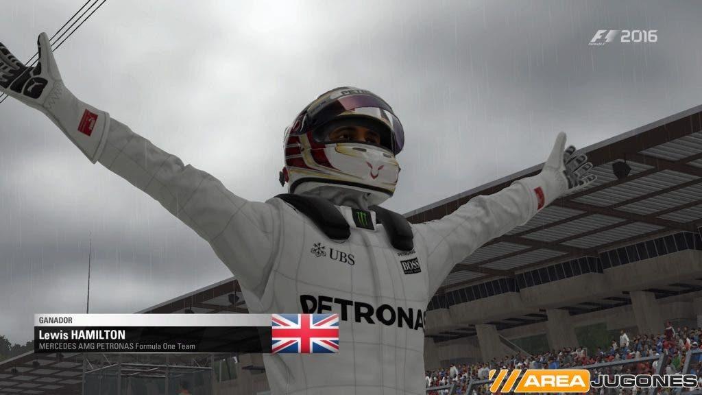 Hamilton F1 2016