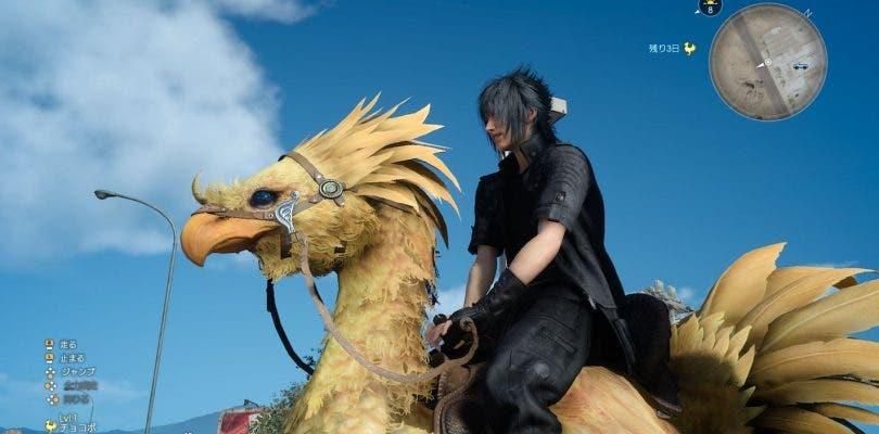 Nuevas imágenes de los personajes de Final Fantasy XV