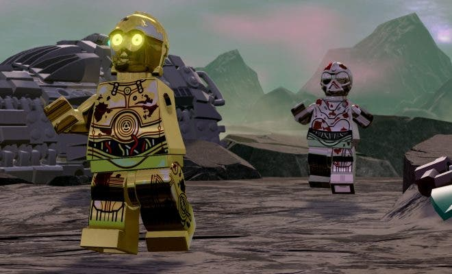LEGO Star Wars C-3PO sin brazo