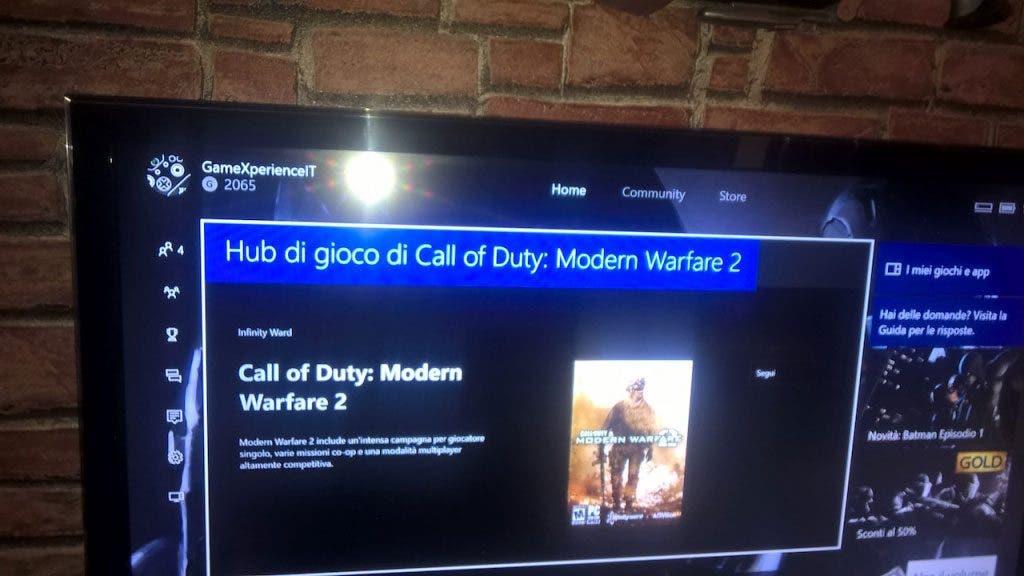 Modern Warfare 2 Xbox One RUMOR