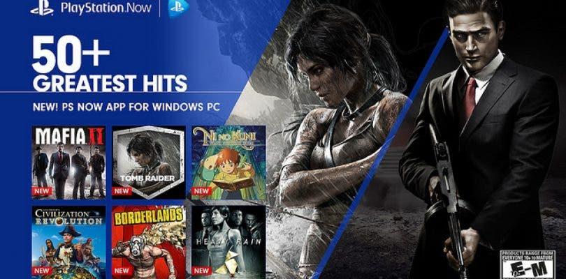 PlayStation Now llega hoy a los ordenadores de Norteamérica