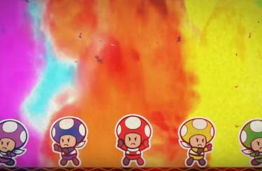 Séptimo y último episodio de Paper Mario: Color Splash – Rescue V