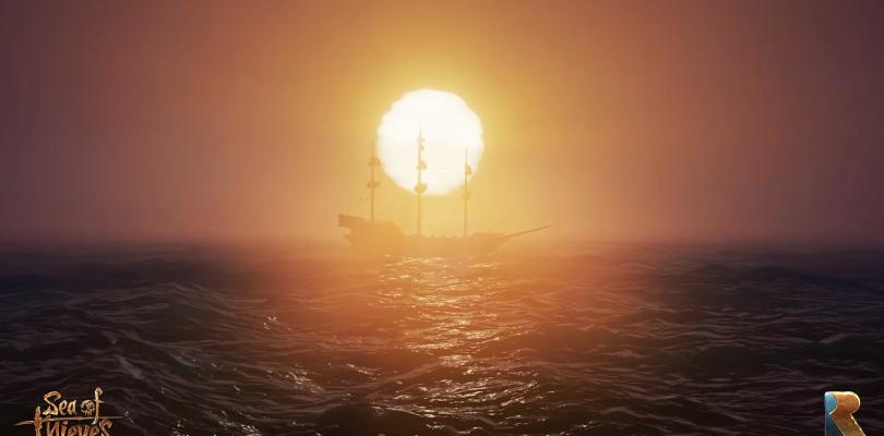 Así de bien luce el océano en Sea of Thieves, lo nuevo de Rare