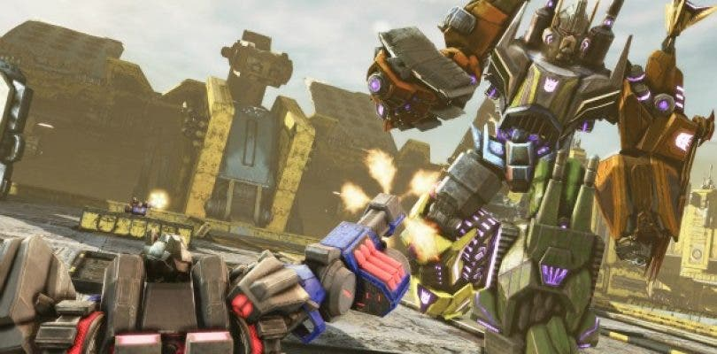 Transformers: Fall of Cybertron ya a la venta para PS4 y Xbox One