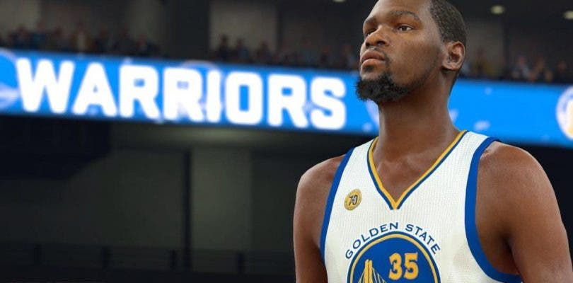 Primer 'screenshot' oficial de Durant con los Warriors en NBA 2K17