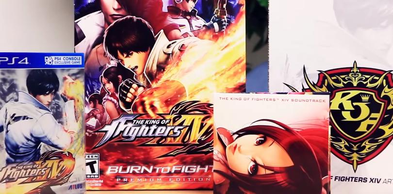 Unboxing de la edición Burn to Fight de The King of Fighters XIV