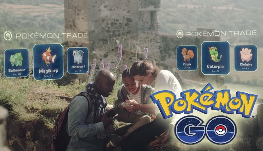 intercambio pokémon GO