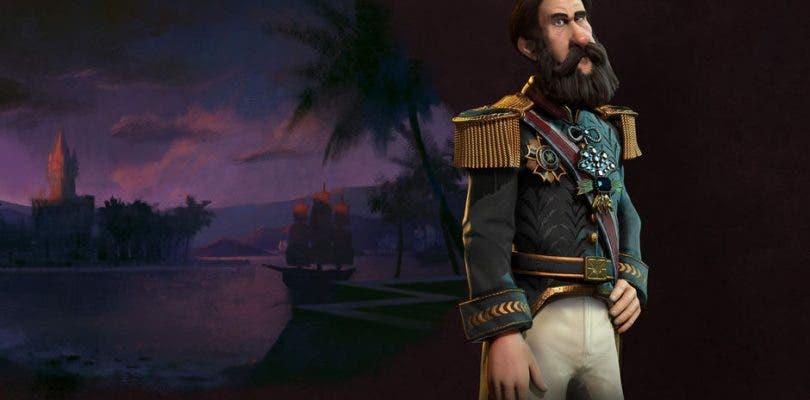 Pedro II y su Imperio presentados en Sid Meier's Civilization VI
