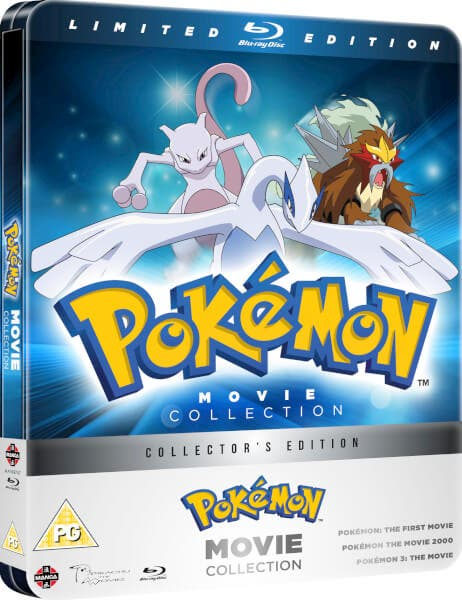 pokémon pack 3 películas