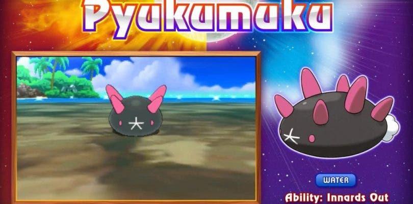 Gánate un sueldo extra con Pyukumuku en Pokémon Sol y Luna