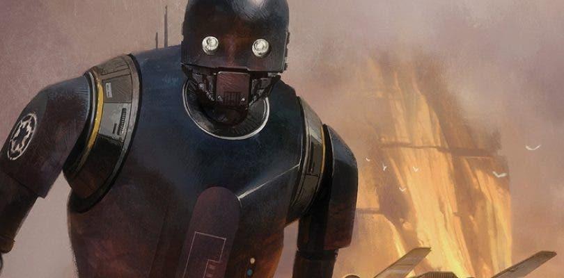 Nuevos detalles e imágenes de K-2SO en Rogue One