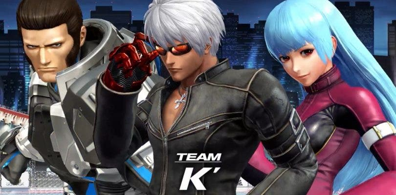 El Equipo K´ presenta su candidatura en The King of Fighters XIV