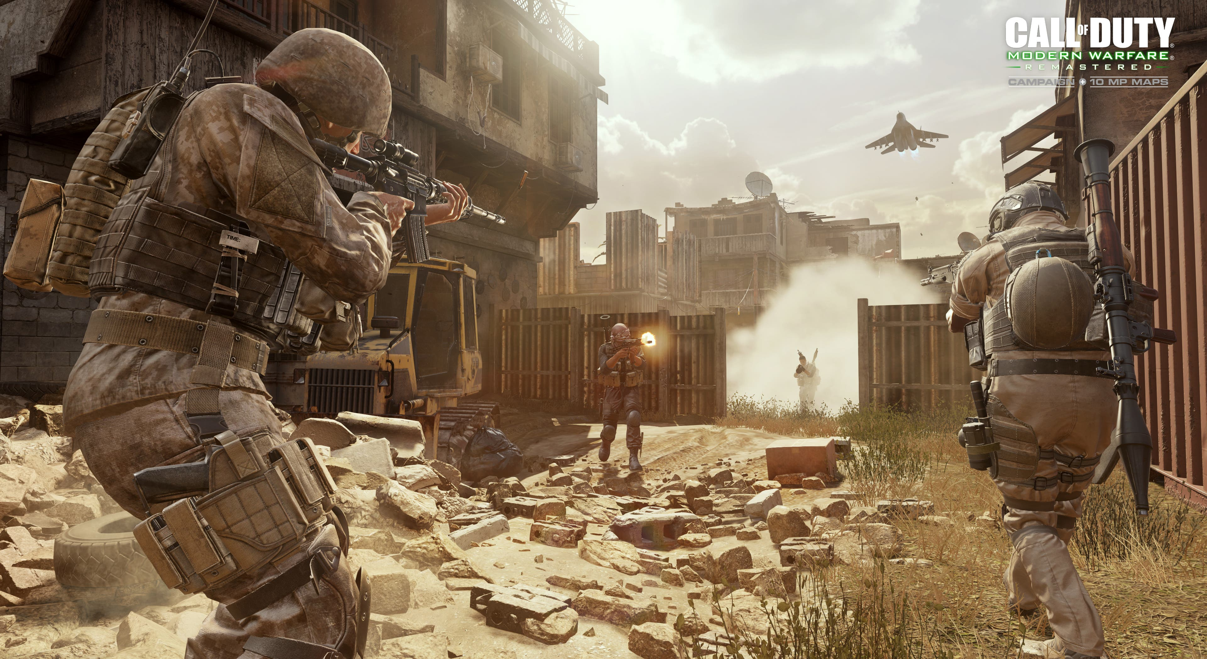 COD Modern Warfare Remastered MP Backlot 2 WM