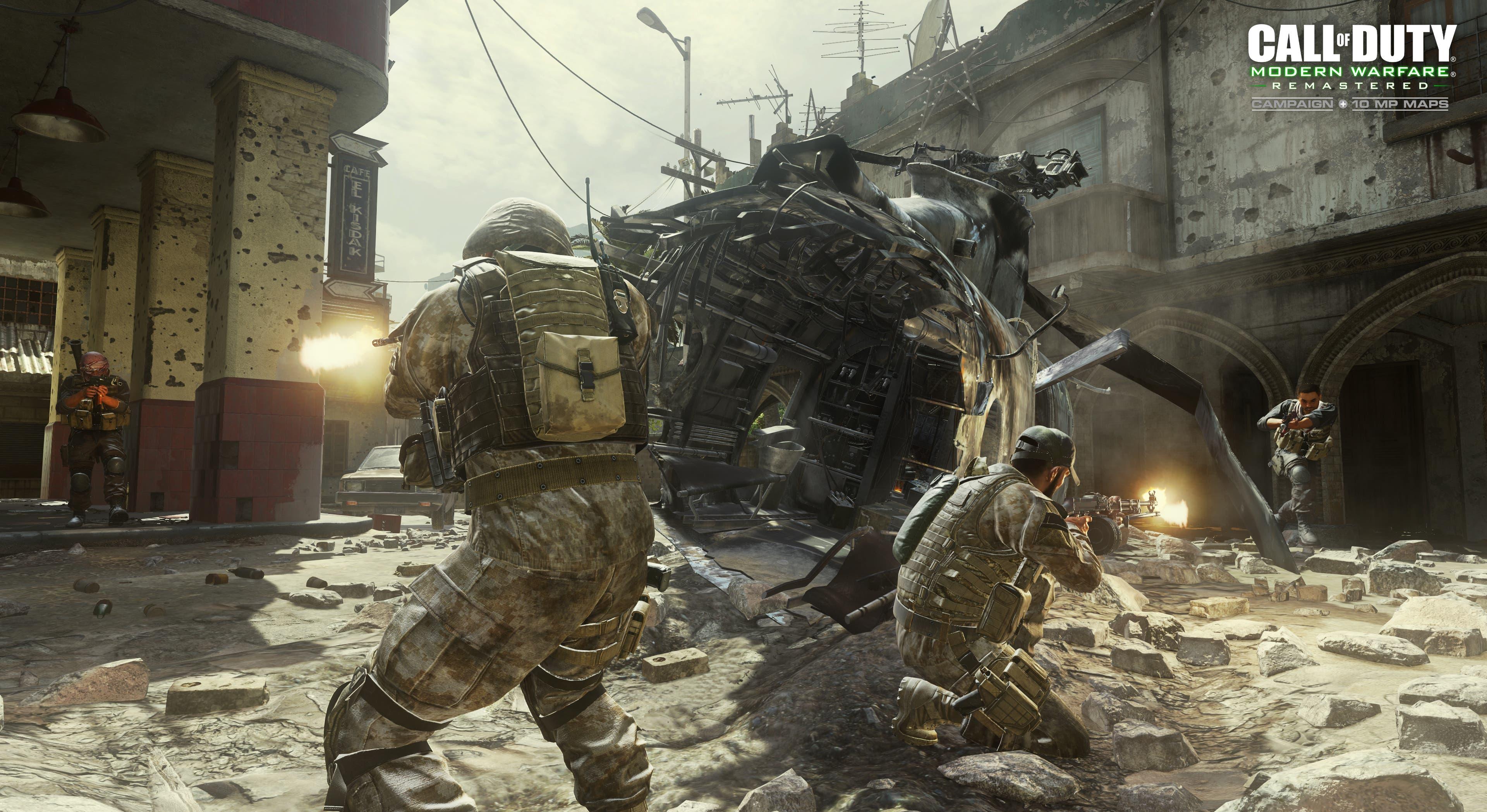 COD Modern Warfare Remastered MP Crash WM