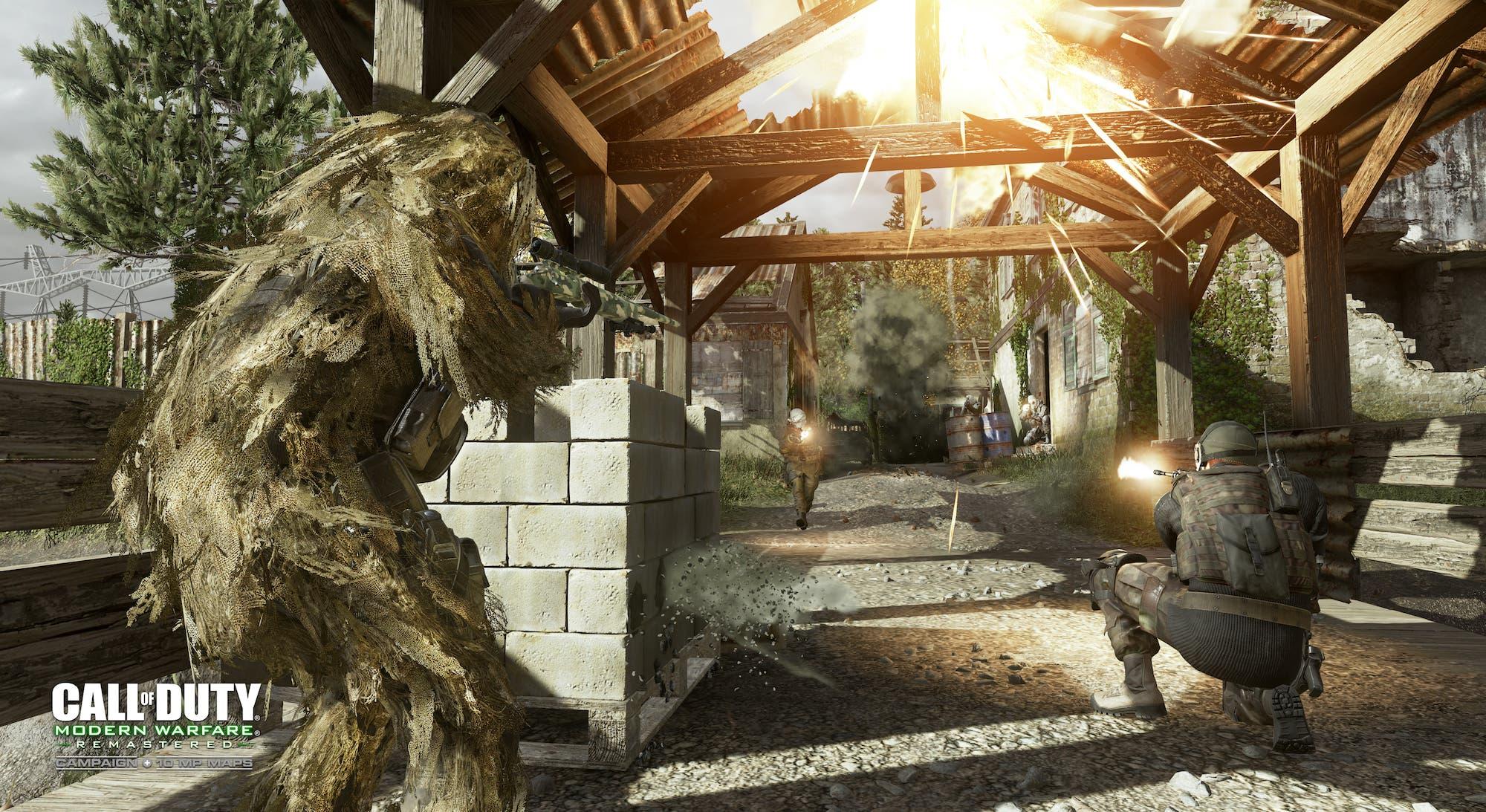 COD Modern Warfare Remastered MP Overgrown 2 WM