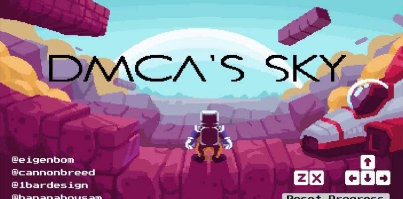 Nintendo pide la retirada de No Mario's Sky y ahora es DMCA's Sky