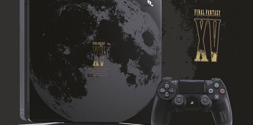 La PlayStation 4 edición Final Fantasy XV llegará a Europa