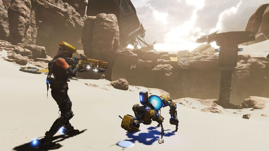 ReCore Inquisitive Mack