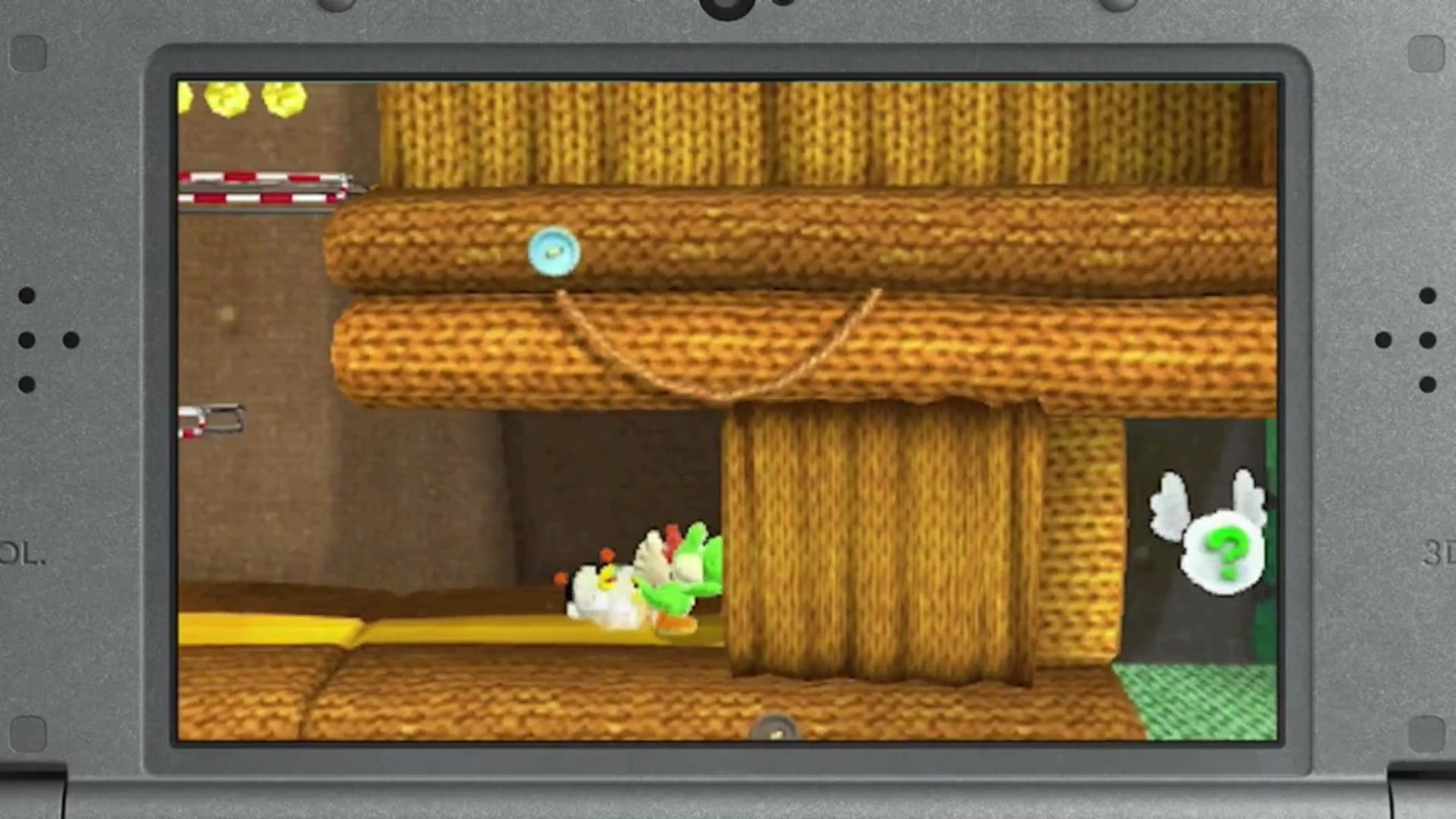 Yoshi wolly world 3ds poochie pups
