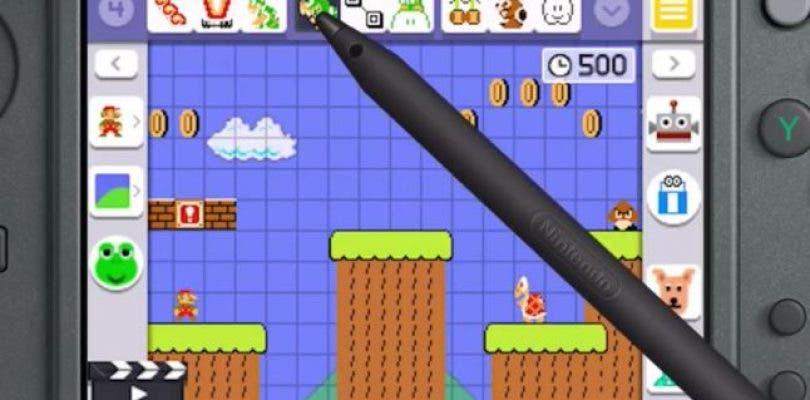 Super Mario Maker para 3DS no usará el soporte 3D