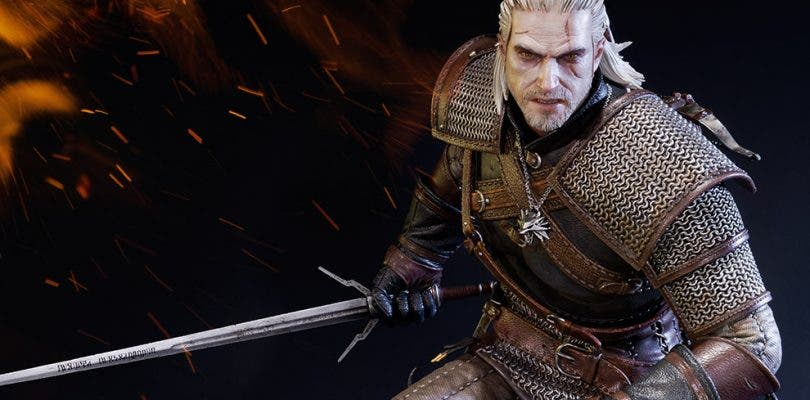 CD Projekt RED presenta una espectacular figura de Geralt de Rivia