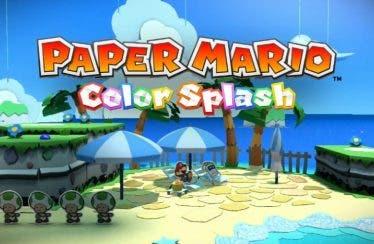 La historia toma color en Paper Mario: Color Splash