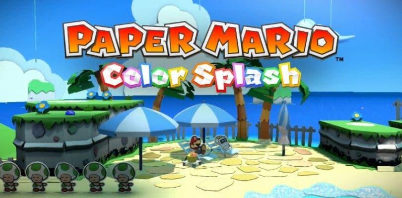 Nintendo publica un nuevo tráiler de Paper Mario: Color Splash