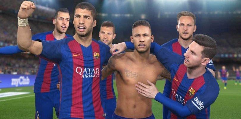 PES 2017 nos muestra en un tráiler a las leyendas del FC Barcelona