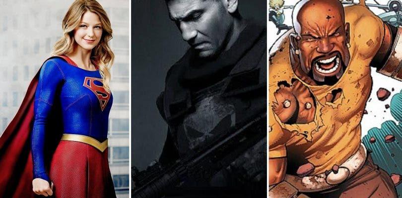 Promos de Supergirl y Luke Cage y nuevo fichaje en The Punisher