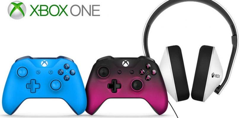 Microsoft presenta nuevos mandos y headset para Xbox One