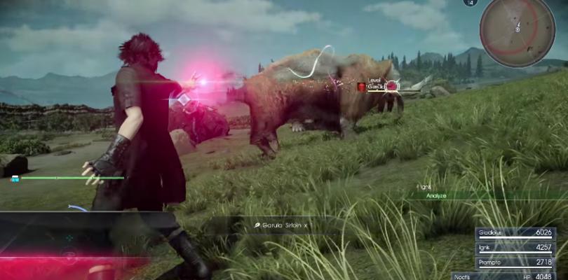 Un nuevo gameplay muestra la magia negra de Final Fantasy XV