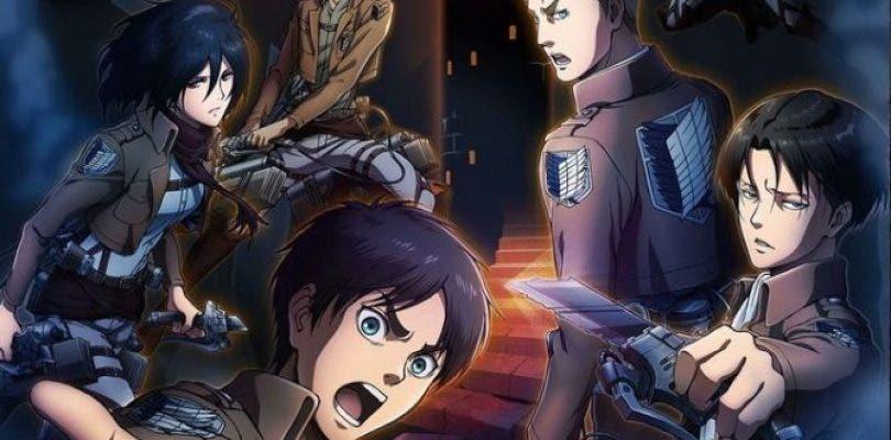 Primeras imágenes del nuevo Attack on Titan para 3DS