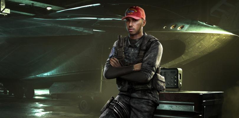 Lewis Hamilton participará en la campaña de Infinite Warfare