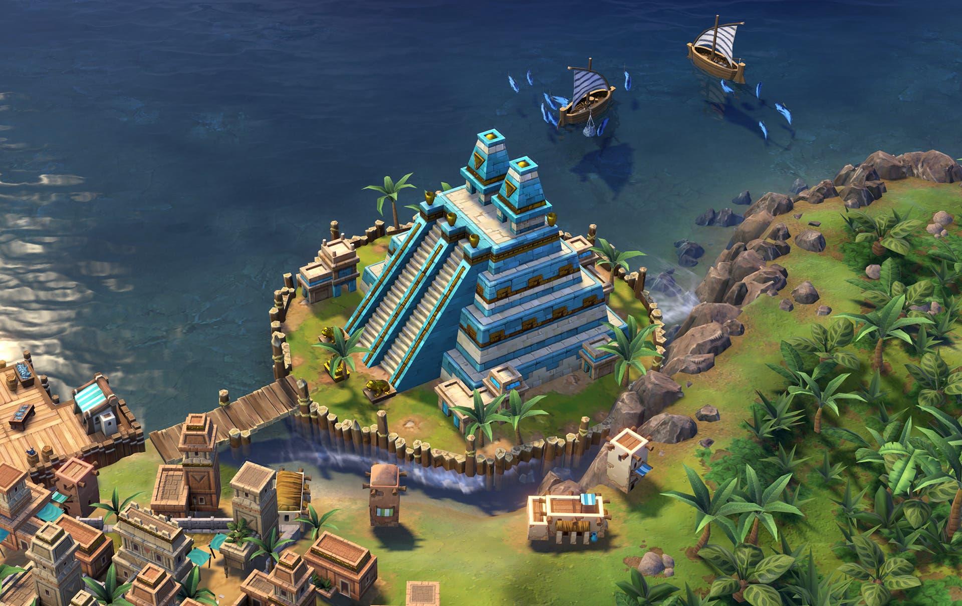 CivilizationVI Wonder Huey Teocalli