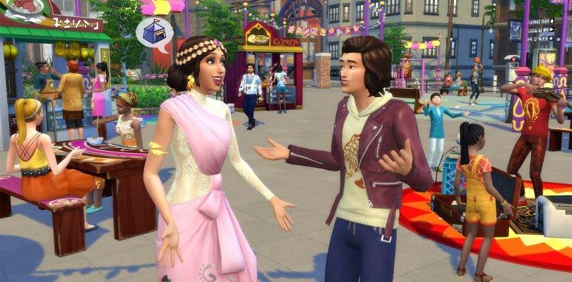 En Los Sims 4: Urbanitas los festivales llenarán la ciudad de vida