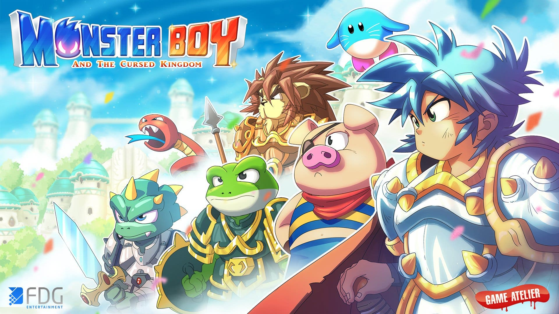 Nintendo Switch Monster Boy and the cursed Kingdom